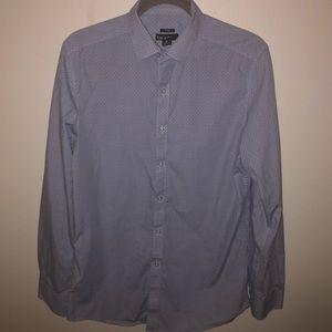 Bar III Blue Dress Shirt